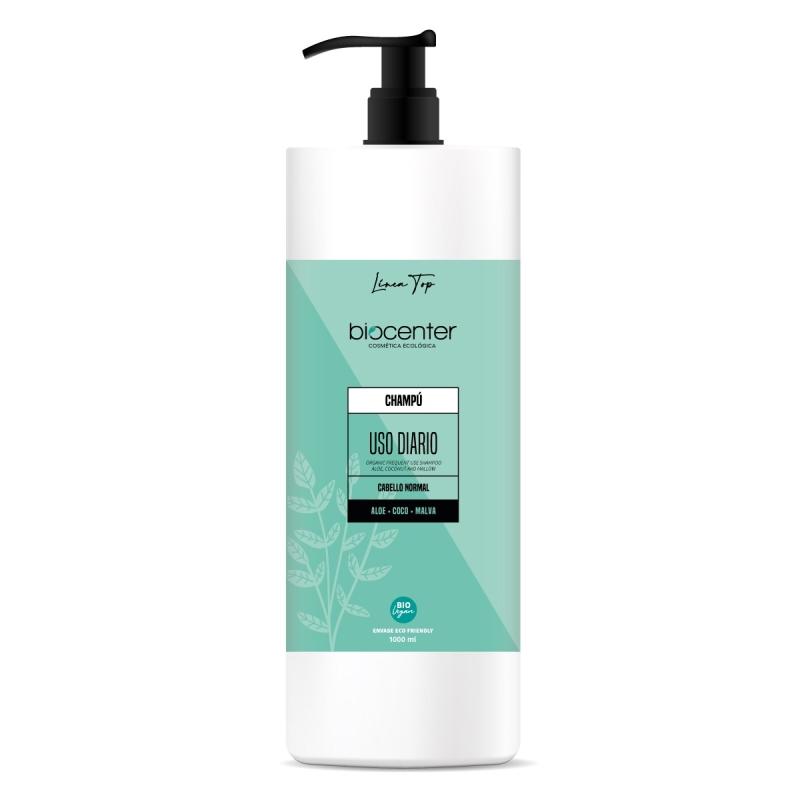 Biocenter Top - Gel de baño y ducha ecológico Energizante - Envase Ecofriendly 1000 ml